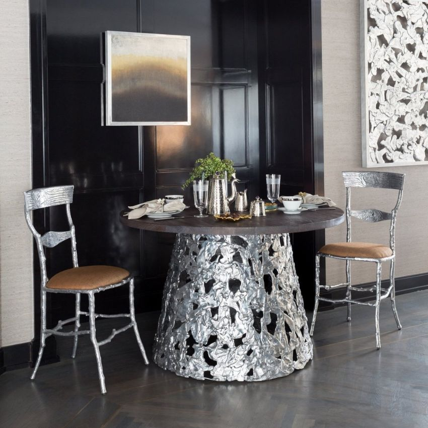 Michael Aram's Luxury Furniture and Tableware For Your Modern Dining Room