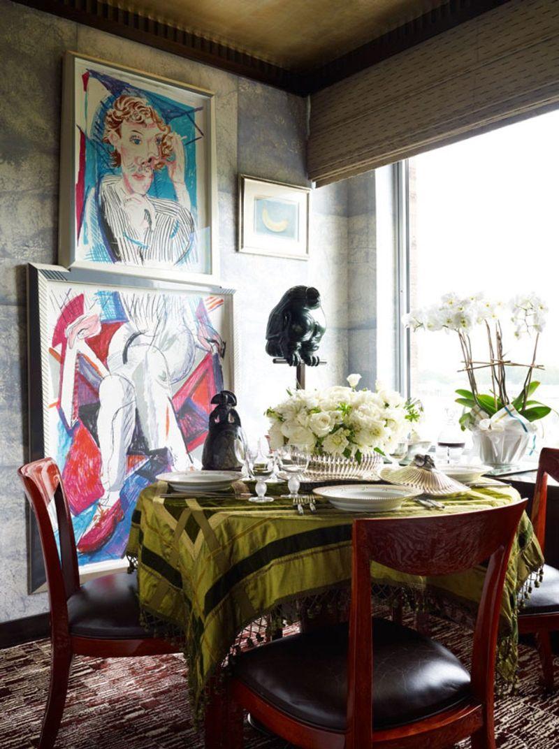 Richard Mishaan's Astonishing Dining Rooms