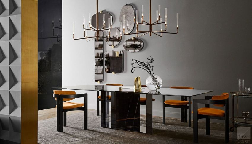 Gallotti and Radice's Luxury Dining Room Furniture Designs (1)