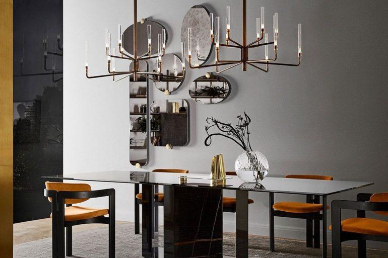 Gallotti and Radice's Luxury Dining Room Furniture Designs ft