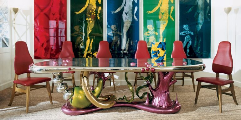 Modern Dining Tables To Complement Your Contemporary Living Roomft