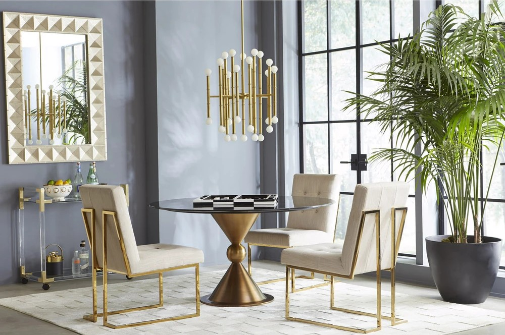 5 Ideas To Change Your Modern Dining Room For Fall/Winter modern dining room Enhance A Fall/Winter Aesthetic In Your Modern Dining Room Dining Room Design Inspirations By Jonathan Adler 7