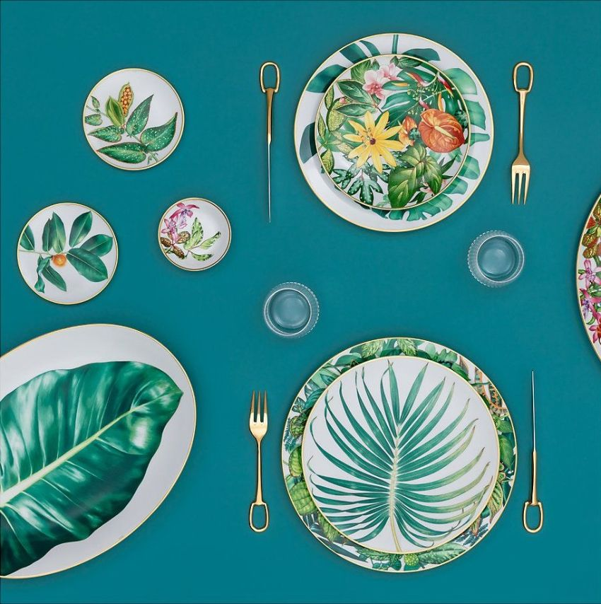 Hèrmes Launches 'Passifolia' A Nature-Inspired Tableware Collection (3) hermès 'Passifolia' – Hermès' Latest Nature-Inspired Tableware Collection H  rmes Launches Passifolia A Nature Inspired Tableware Collection 3