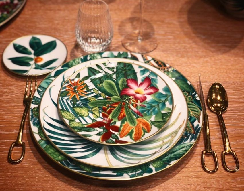 Hèrmes Launches 'Passifolia' A Nature-Inspired Tableware Collection (4) hermès 'Passifolia' – Hermès' Latest Nature-Inspired Tableware Collection H  rmes Launches Passifolia A Nature Inspired Tableware Collection 4