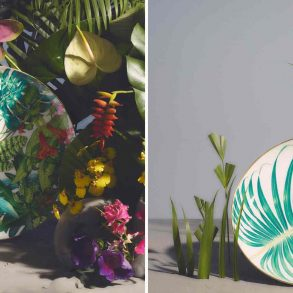 Hèrmes Launches 'Passifolia' A Nature-Inspired Tableware Collection ft