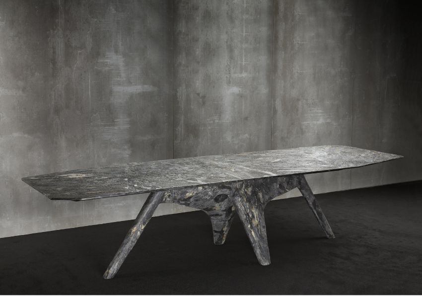 Unravel Vincenzo De Cotiis Simple Yet Contemporary Dining Table Designs (4)