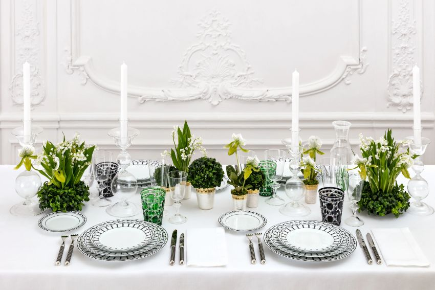 Dior Brings You A Blast From The Past With It's Tableware Collection