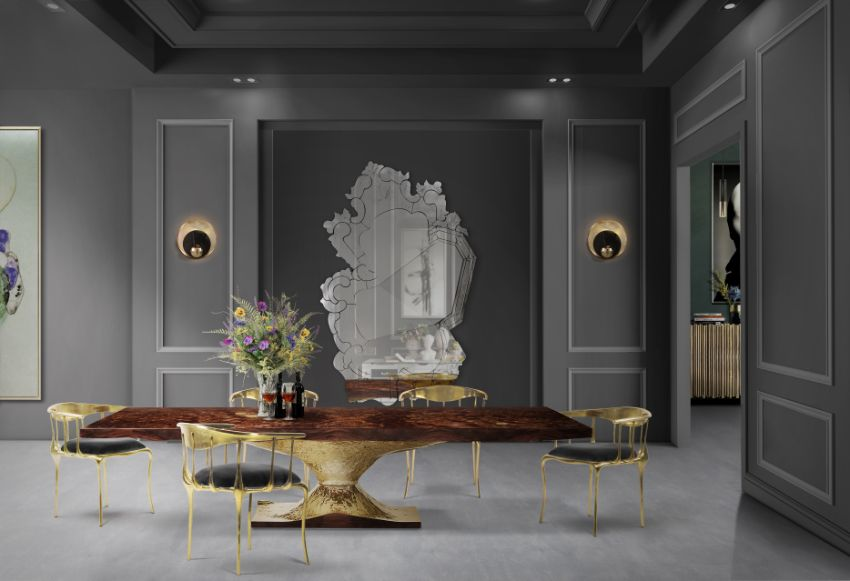 Wood Dining Tables For A Sophisticated Atmosphere