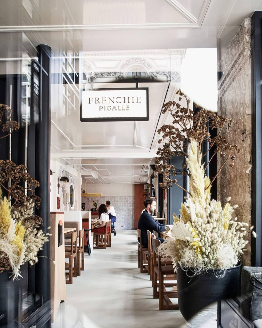 Frenchie Pigalle - A French Restaurant That Serves  Food and Great Design
