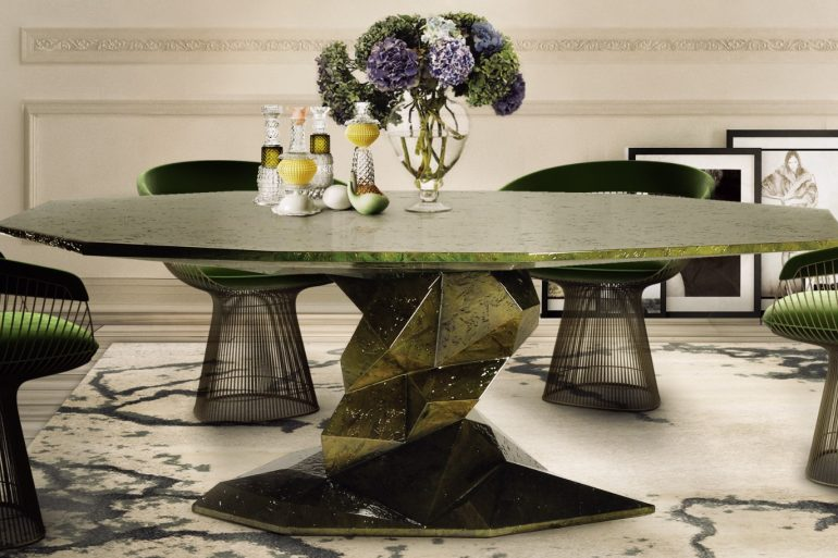 Top Luxury Furniture Brands For An Imposing Dining Room