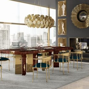 Make An Impact In Your Modern Dining Room With Luxury Lighting