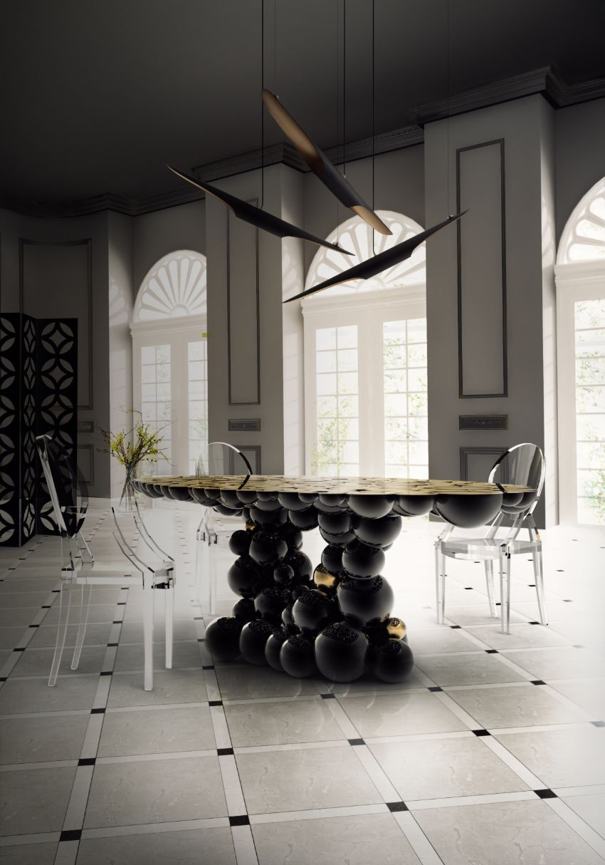 Newton By Boca Do Lobo – Discover This Luxury Statement Dining Table