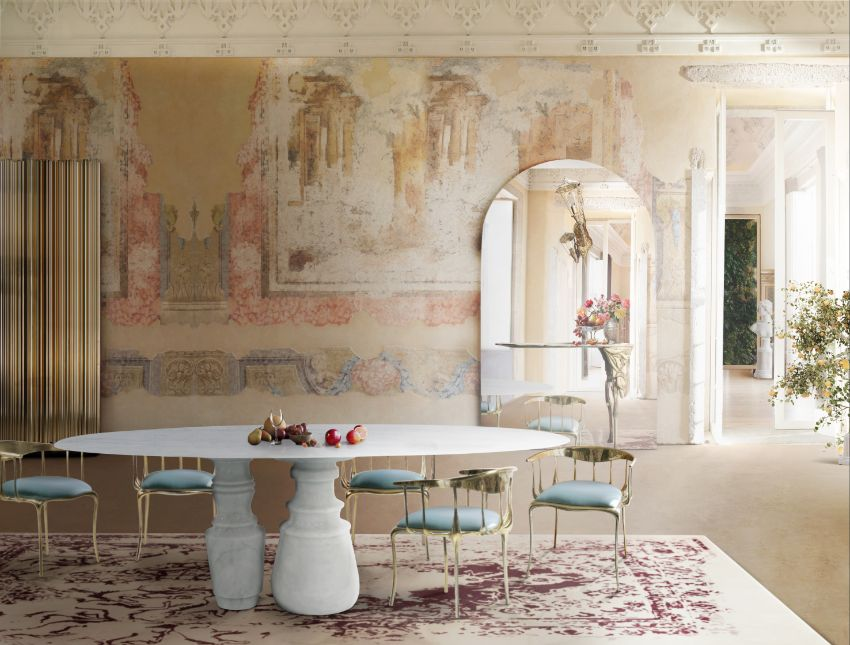 Top 5 Refined Marble Dining Tables For A Luxury Interior Design