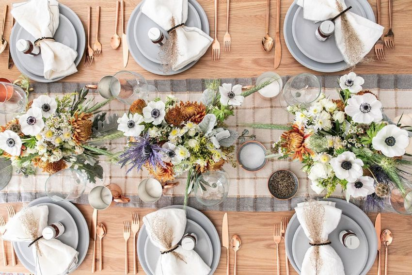 Thanksgiving Center Pieces For Your Modern Dining Table