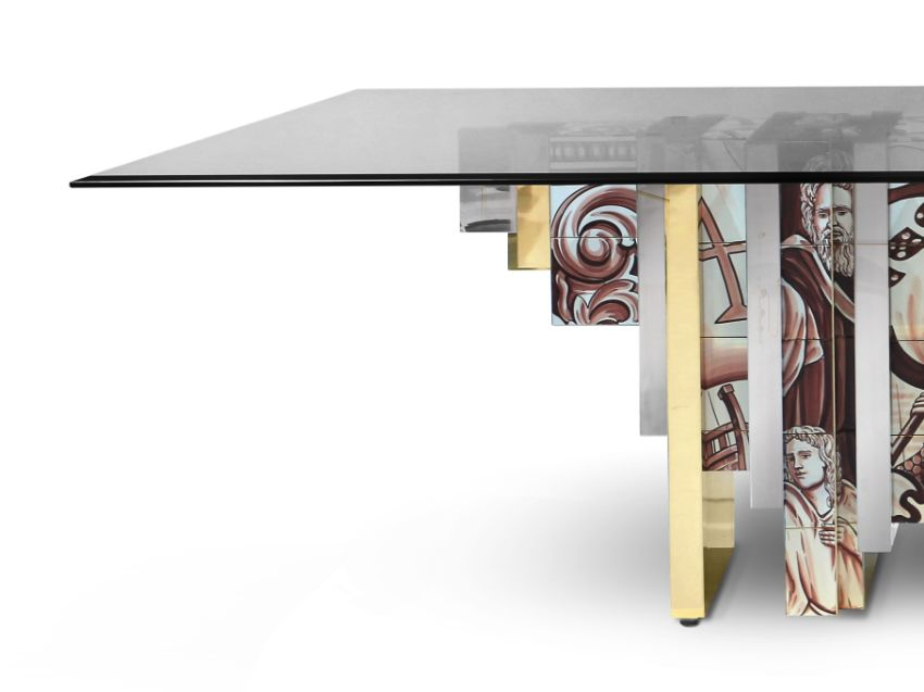 Boca do Lobo Brings Tradition To The Dining Room with Heritage Dining Table