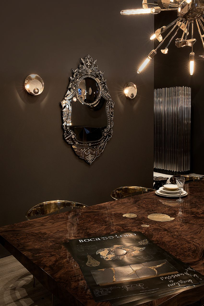 5 Luxury Mirrors That Will Bring Life To Your Modern Dining Room