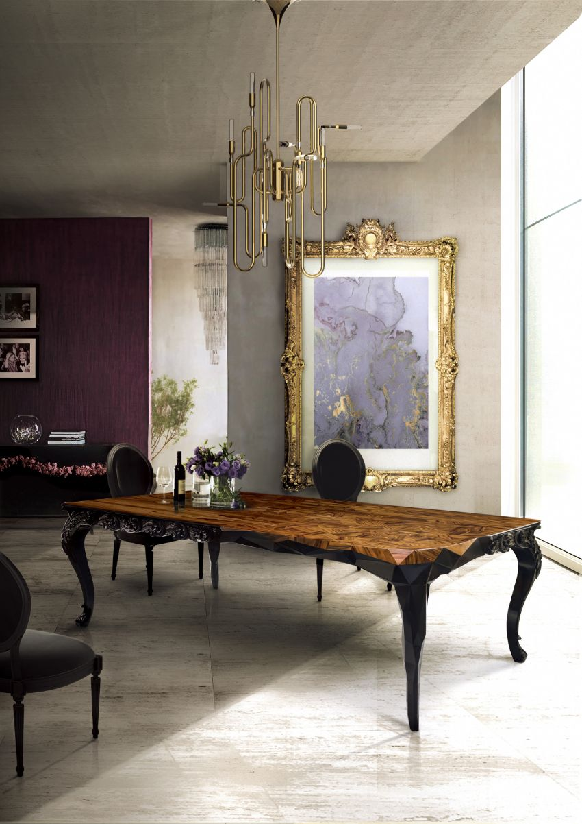 10 Modern Dining Tables For An Impressive Dining Room modern dining tables Modern Dining Tables For An Imposing Dining Room royal 1