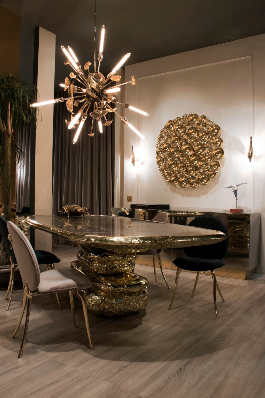 Luxury In Your Dining Room -The Most Expensive Modern Dining Tables