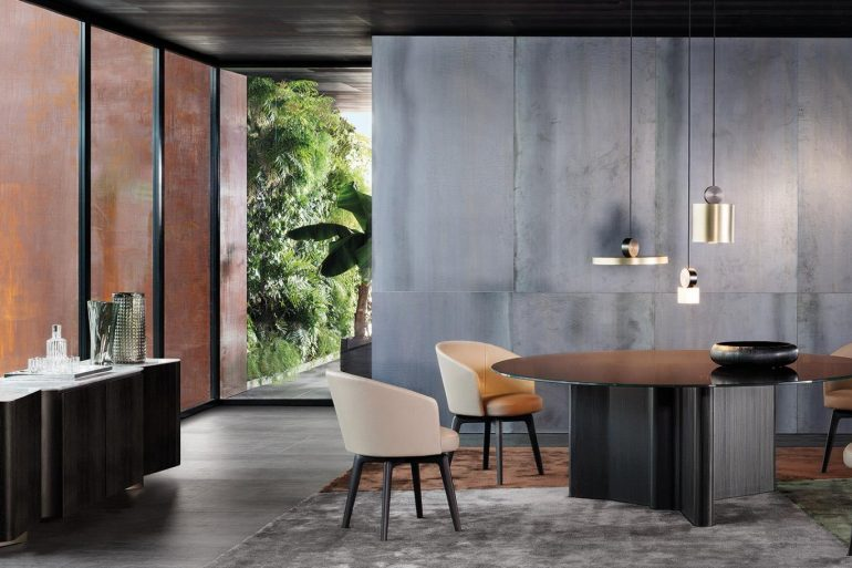 Black Modern Dining Tables For A Sophisticated Dining Room