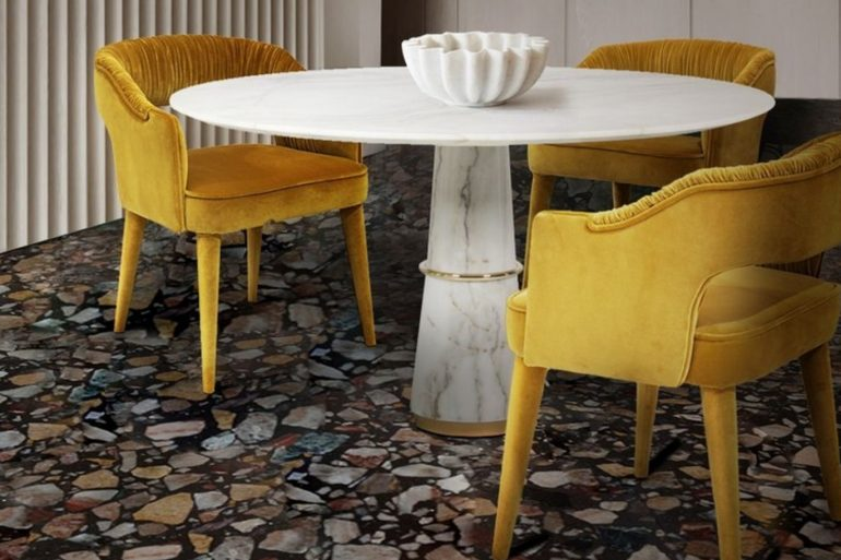 Comfort And Luxury - Velvet Dining Chairs To A Stunning Dining Room