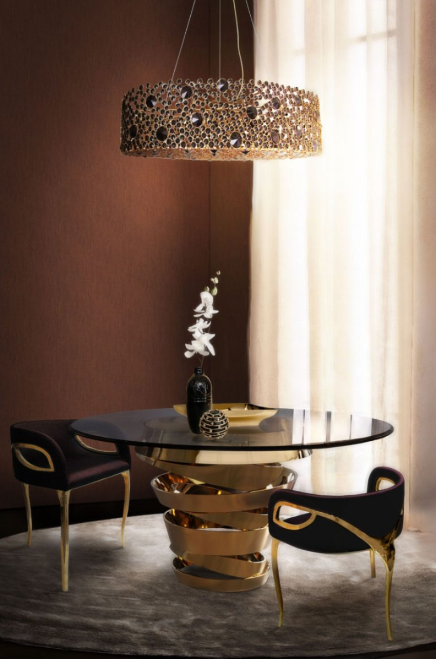 Modern Dining Chairs, That You Will Fall In Love With luxury dining room 50 Incredible Home Decor Ideas For A Luxury Dining Room 3afa98e40f46fd0101c503291af5d20f 1 770x1163 1 1