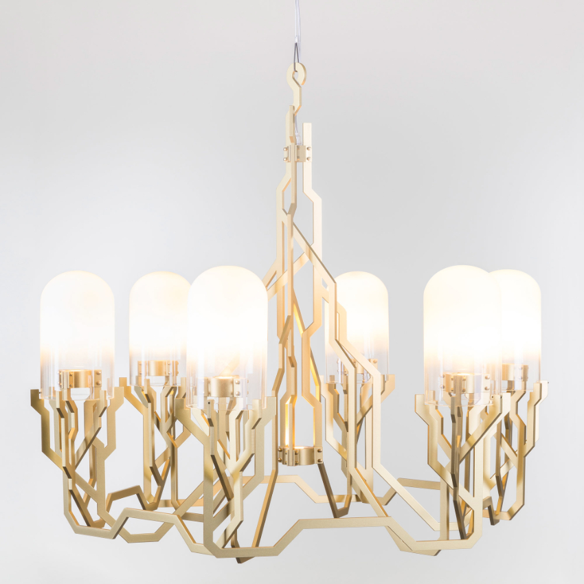 25 Modern Chandeliers That Will Make A Striking Impact modern chandelier 25 Modern Chandeliers For An Art-Filled Home 850196 1