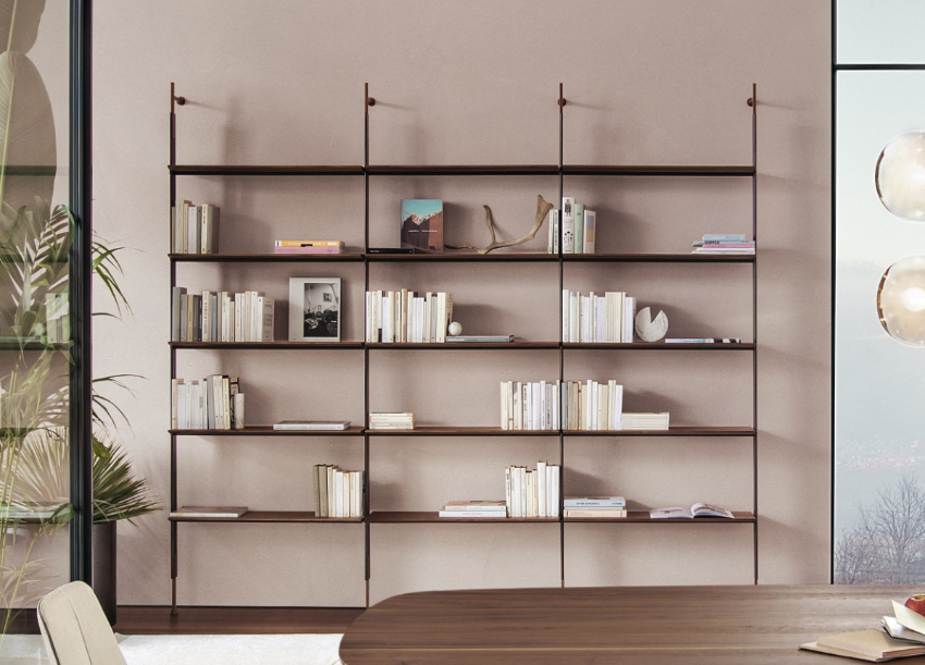 25 Unforgettable Bookcases For An Impressive Dining Area