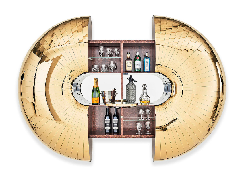 Luxury Bar Cabinets Will Make You Wish For A Drink