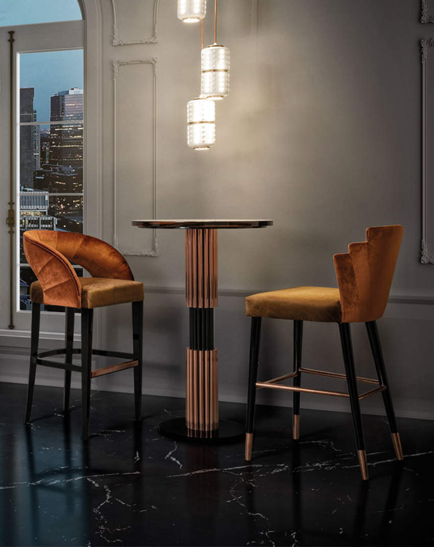 Bar Tables For An Outstanding Private Home Bar