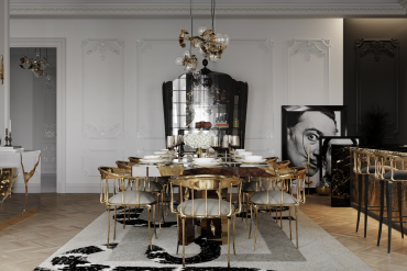Step Inside A Multi-Million-Dollar Penthouse's Luxury Dining Room