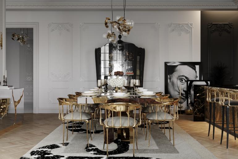 Step Inside A Multi-Million-Dollar Penthouse's Luxury Dining Room