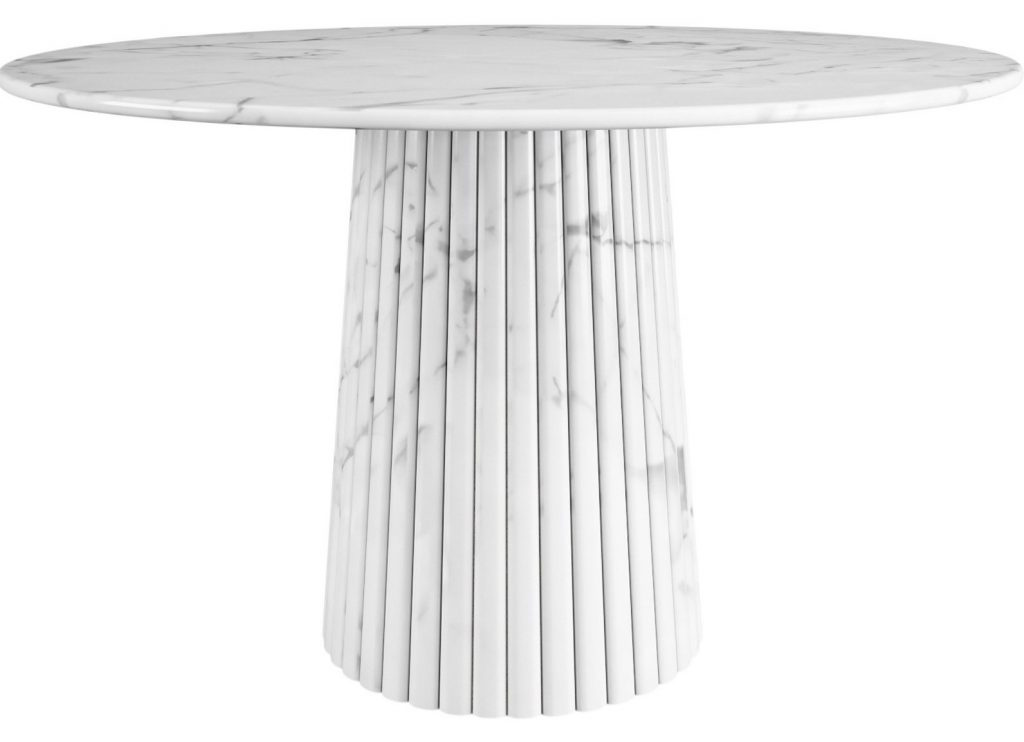 20 White Exclusive Tables For Your Dining Room