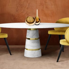 20 Exclusive White Tables For Your Dining Room