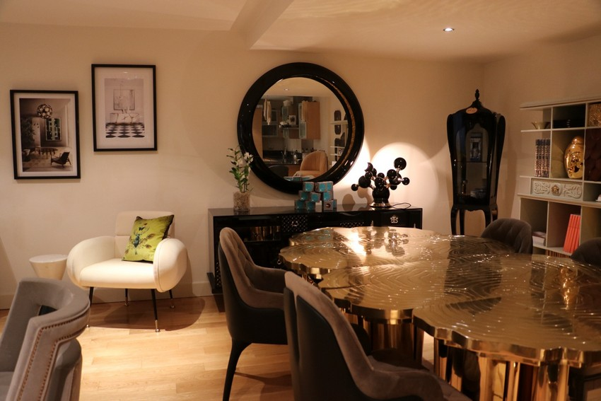 An Hymn To Celebration And Togetherness In Covet London´s Dining Room