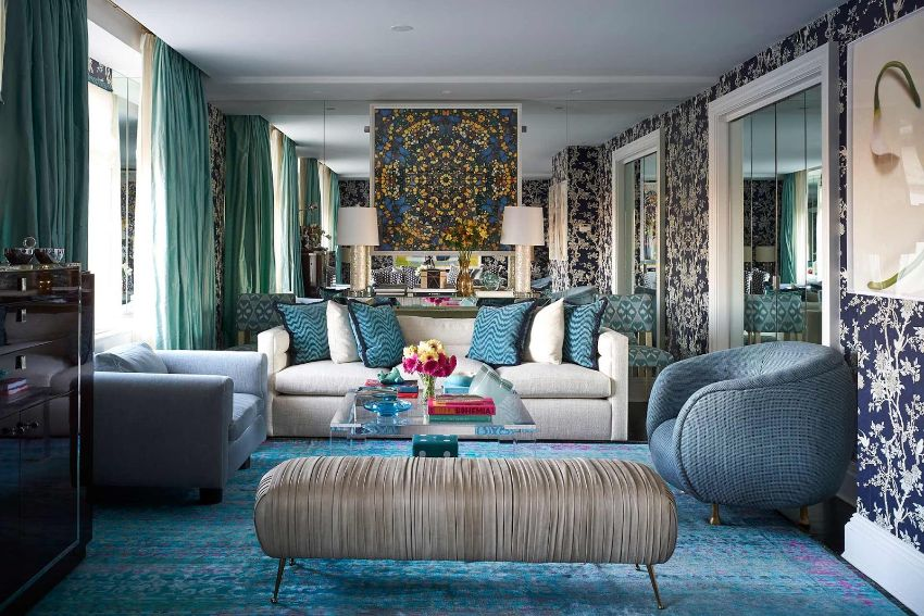 Sig Bergamin An Exotic and Colorful Style for Your Living Room