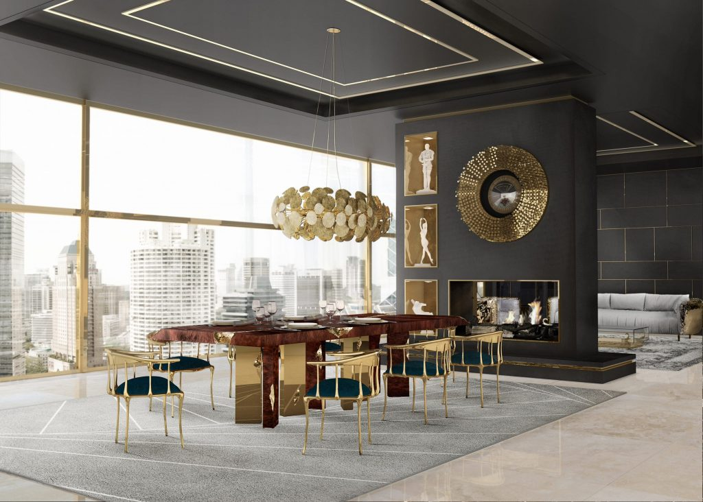 Luxury Dining Chairs For Your Creative Dining Room Interior