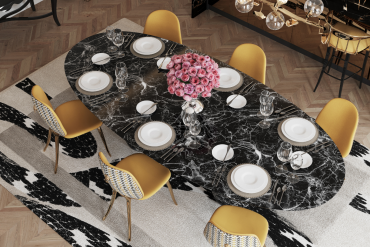 Luxury Dining Rooms Filled With Exclusive Furniture