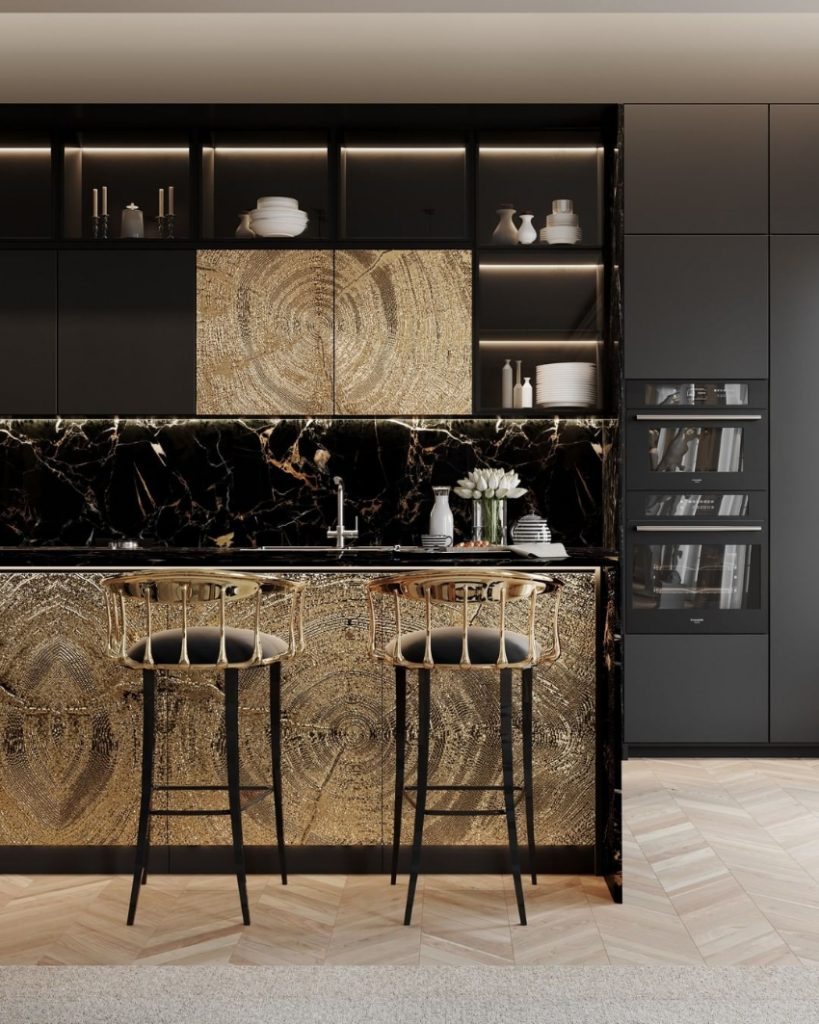 modern dining room Revamp Your Modern Dining Room With These Design Ideas! bl custom kitchen 1 819x1024