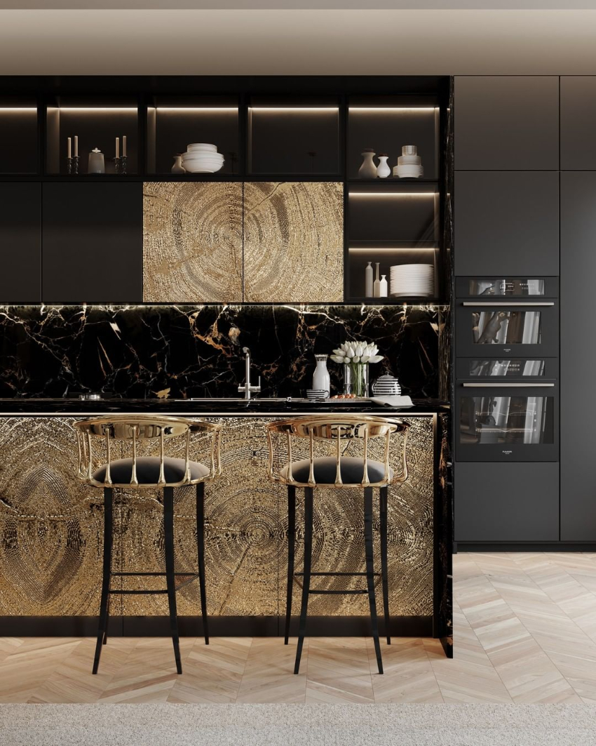 Luxury Dining Rooms Filled With Exclusive Furniture  luxury dining room Contemporary And Luxury Dining Rooms To Fuel Your Inspiration bl custom kitchen 1