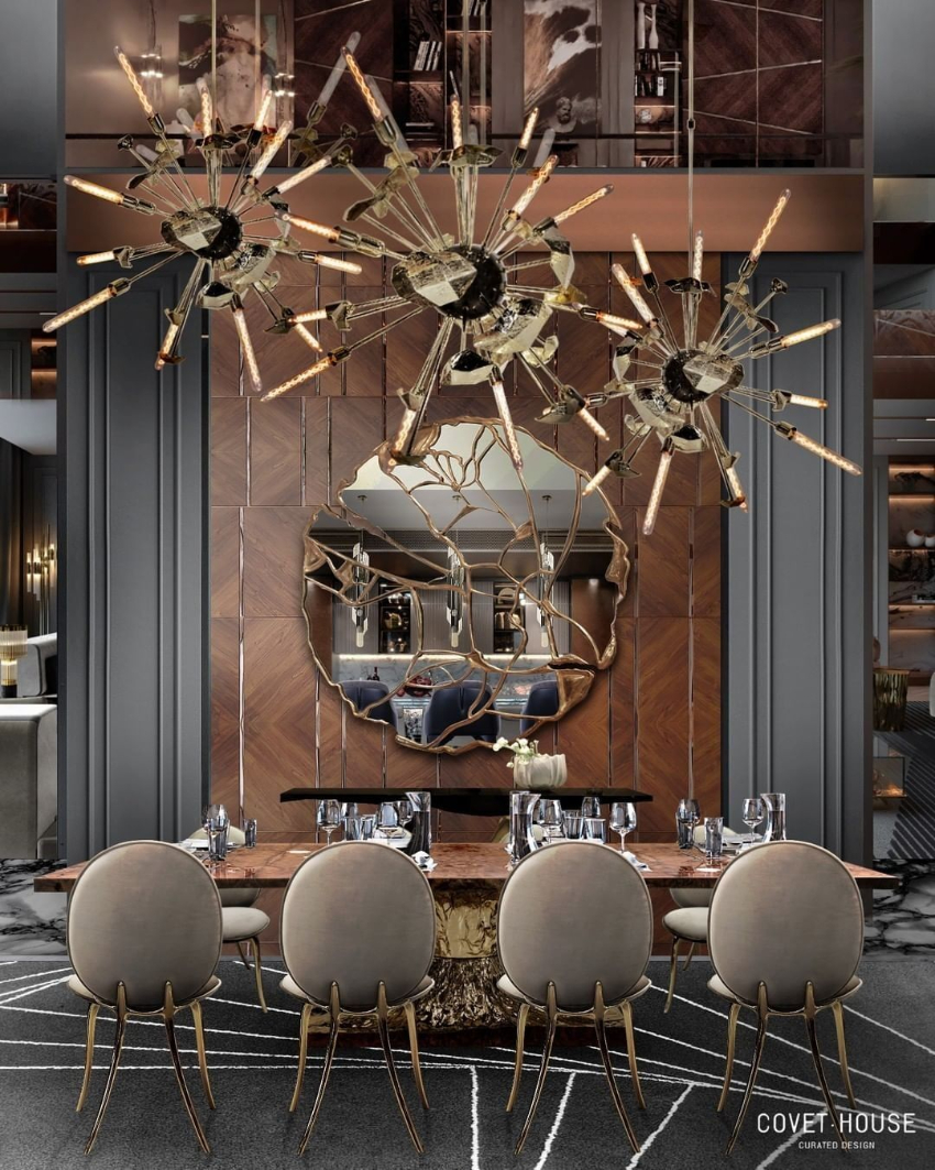 Discover 6 Ways to Upgrade Your Modern Dining Room  modern dining room Revamp Your Modern Dining Room With These Design Ideas! bl luxury dining room design 2