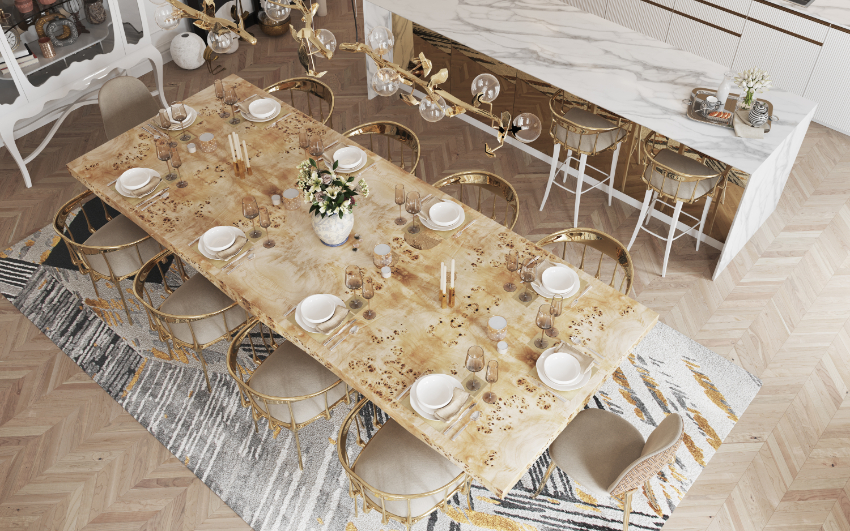 Discover 6 Ways to Upgrade Your Modern Dining Room  modern dining room Revamp Your Modern Dining Room With These Design Ideas! bl modern dining room ideas 2