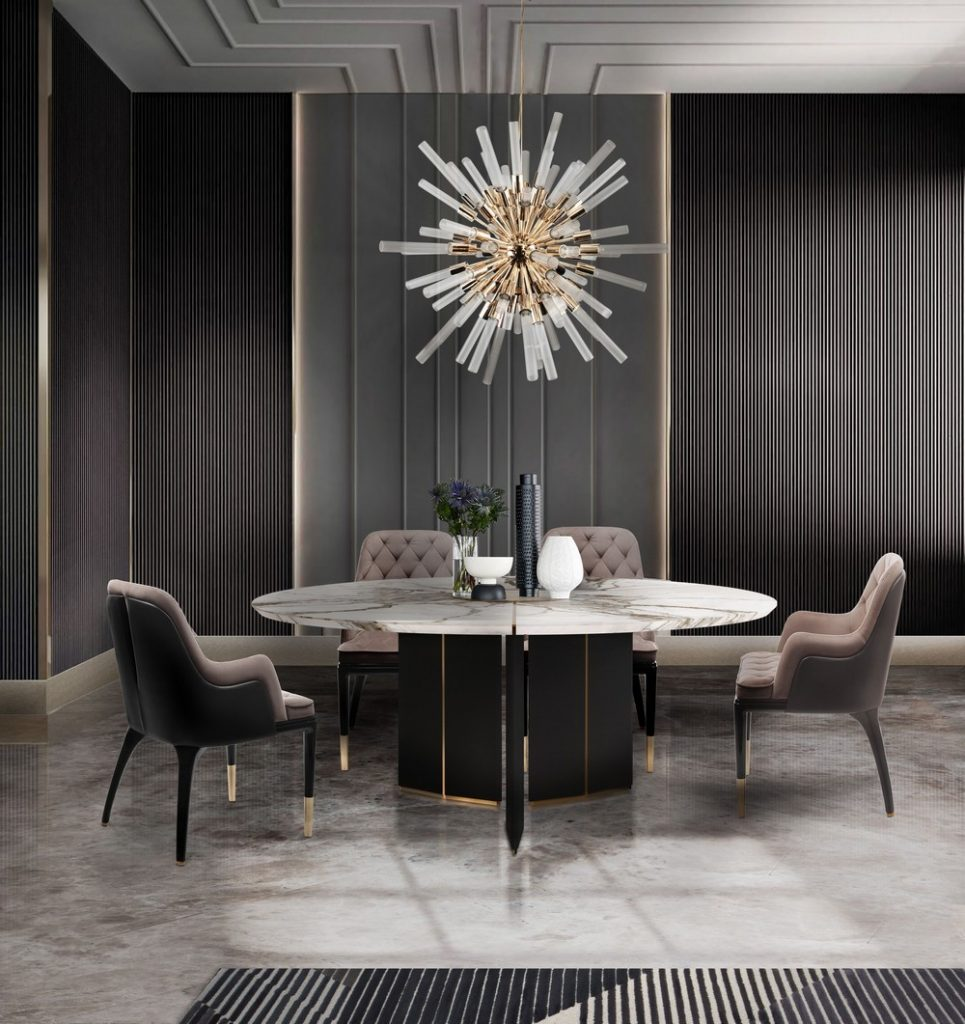 Incredible Home Decor Ideas For A Luxury Dining Room