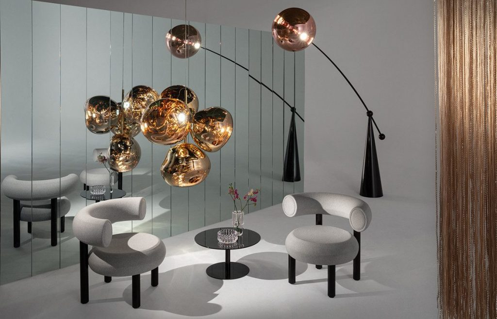 A Luxurious And Inspiring Dining Room Design Journey by Tom Dixon