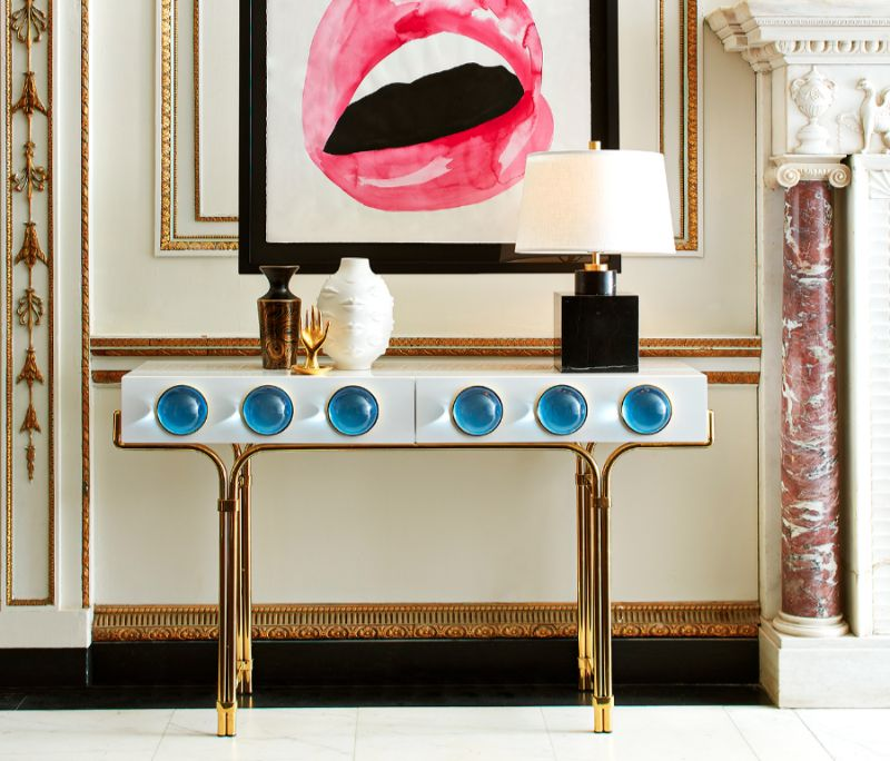 Artsy Console Tables Can Give Attitude To Your Modern Home