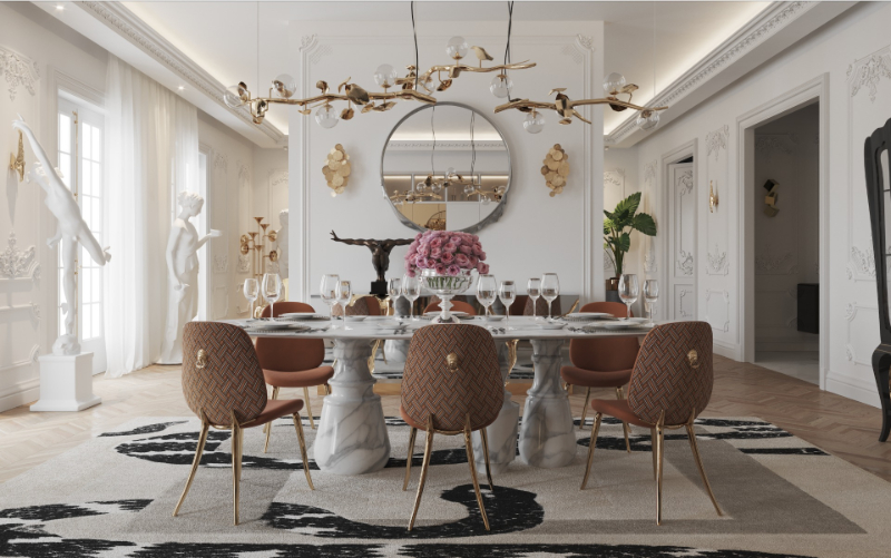 Design Trends and Ideas For A Contemporary Dining Rooms