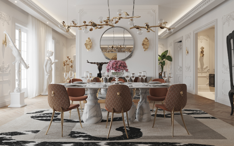 The Most Exquisite Design Inspirations For Your Dining Room