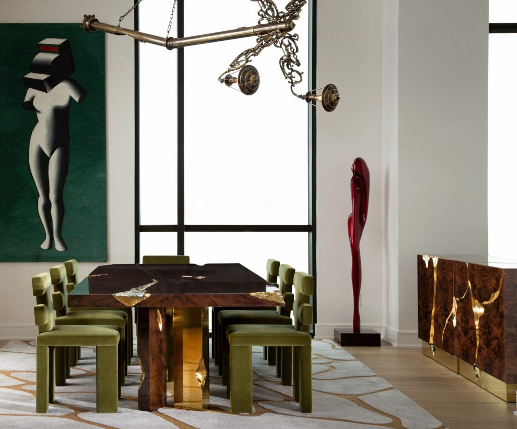 Exquisite Luxury Dining Tables For An Imposing Dining Room