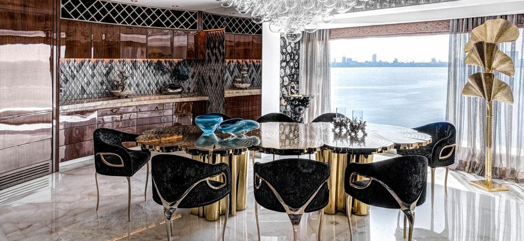 Luxury Brands To Inspire An Imposing Dining Room